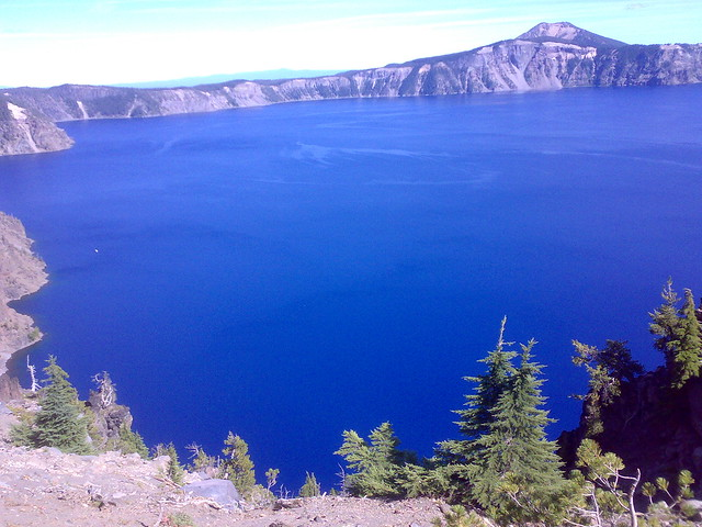 Crater Lake Boat Tour Wizard Island