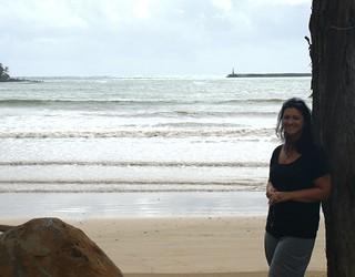 Image of Hanamaulu Beach. beach honeymoon kauai marika hanamaulu