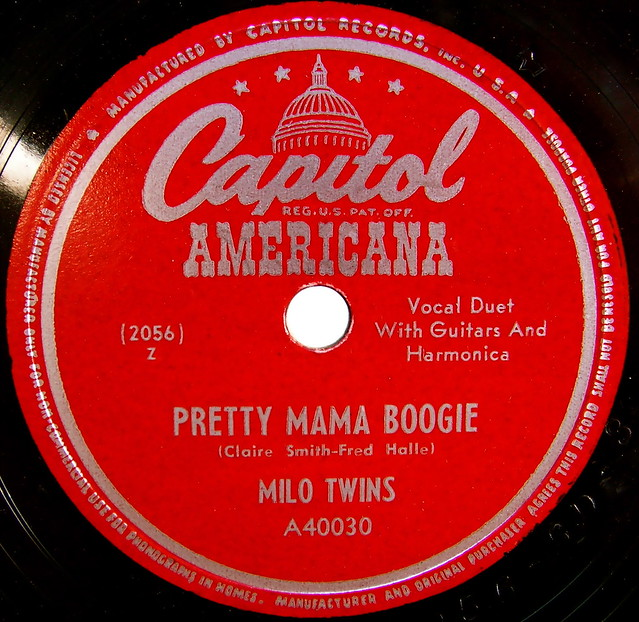 Capitol americana vintage record label flickr photo for Classic house record labels