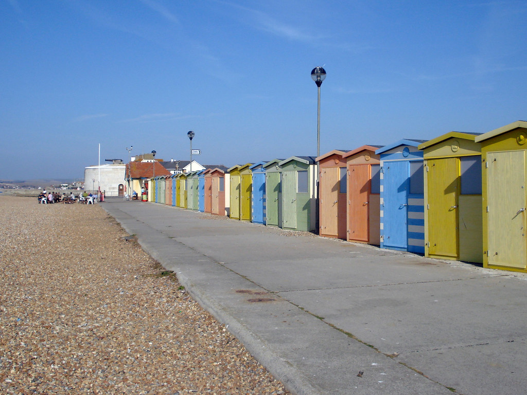 Seaford beach huts