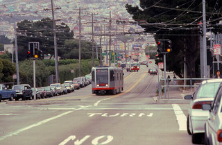 19970520 05 Muni LRV San Francisco.