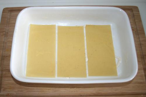 68 - Lasagneplatten einlegen / Put in lasagna sheets