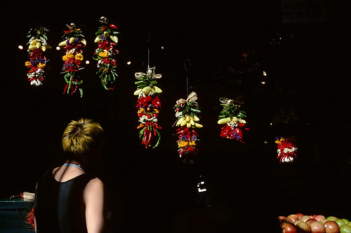 Kodachrome, Chili Peppers, Pike Street Market, Seattle, Wa