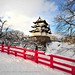 Hirosaki Castle Winter © Glenn Waters (Explored).  Over 38,000 visits to this photo.