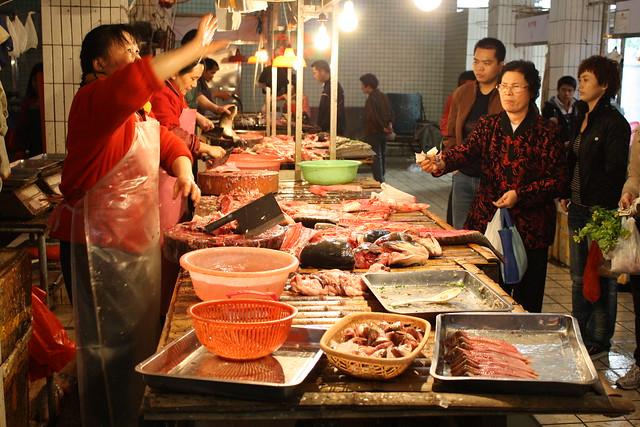 Mercado en Guangzhou