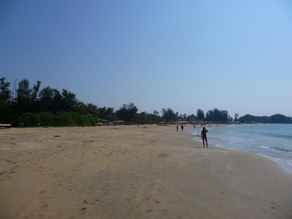 пляж Patnem