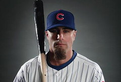 Reed Johnson - Chicago Cubs Outfielder 2009