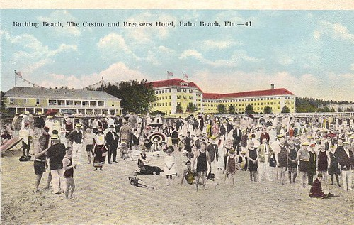 Bathing Beach Breakers Hotel Palm Beach, FL
