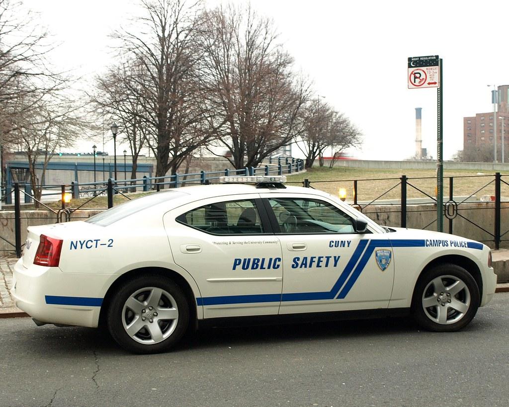CUNY Public Safety Campus Police Car, Brooklyn, New York City