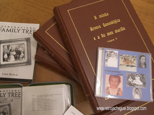 A minha genealogia/My genealogy