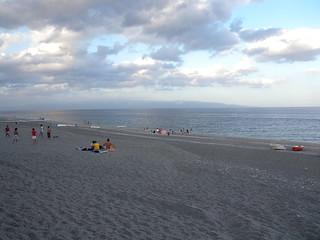 Bild av Spiaggia di Roccalumera Stranden med en längd på 2528 meter. sicily sicilia sicile p6000