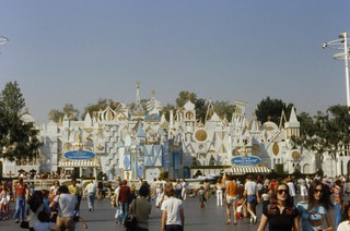 "Approaching ""It's a small world"", Disneyland, 1979"
