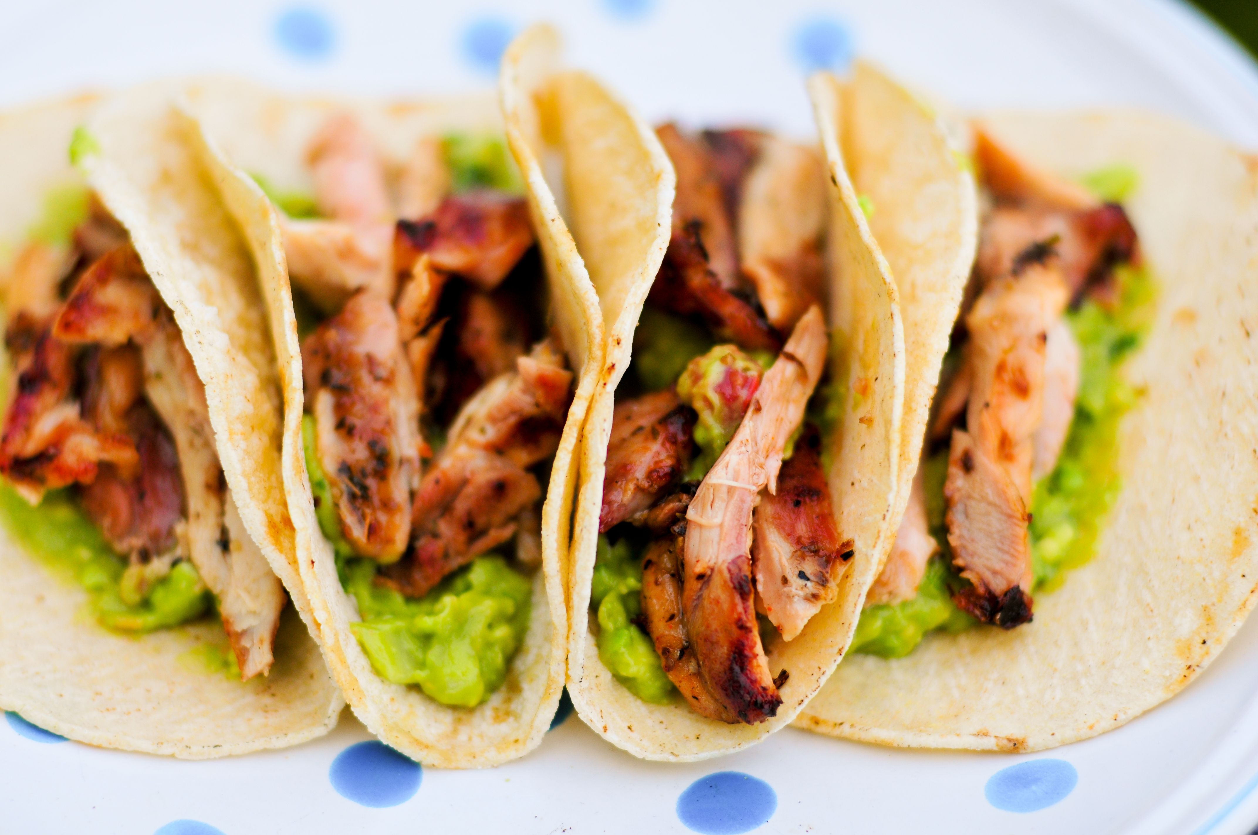 Beer-marinated Chicken Tacos | Read about these tacos at www ...