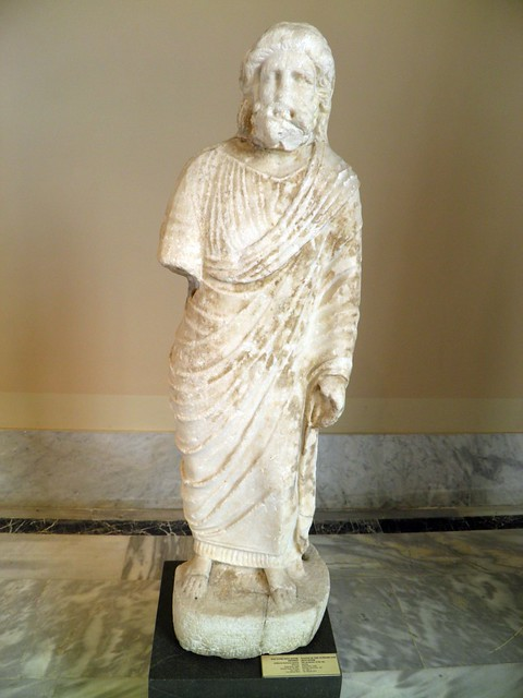 Statue of the supreme God Zeus Soter, Sculpture of Roman Period, Istanbul Archaeology Museum