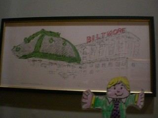 Flat Stanley Visits Mayor Taveras