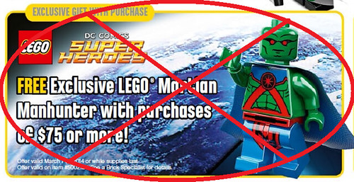 No More Martian Manhunter Minifigures Available