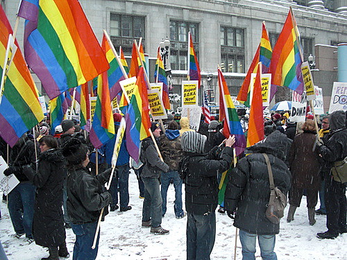 National Protest on DOMA