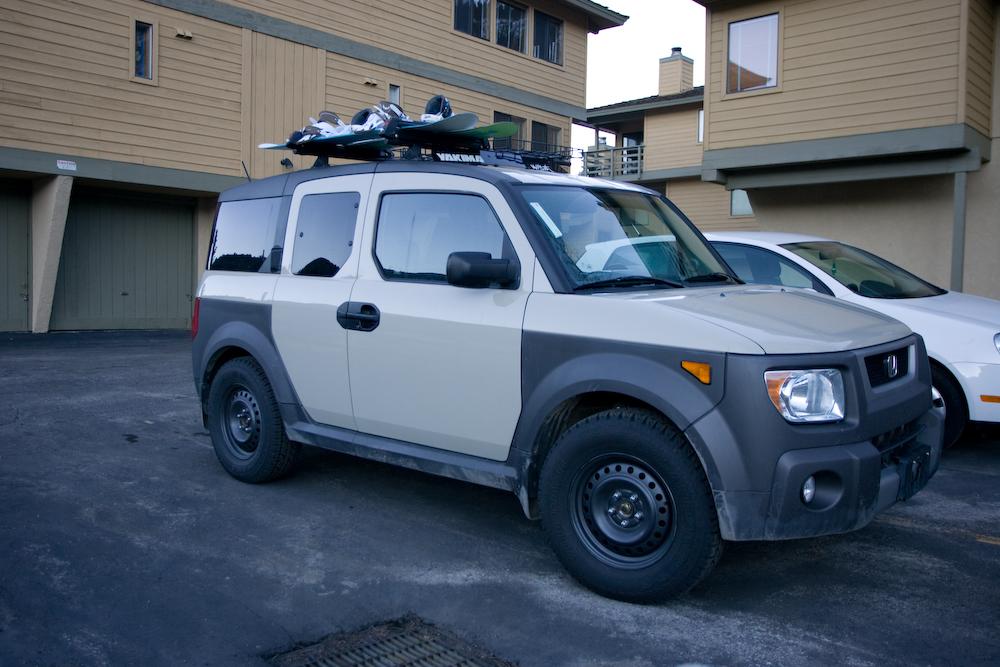 fs off road element 2005 cargo khaki honda element. Black Bedroom Furniture Sets. Home Design Ideas
