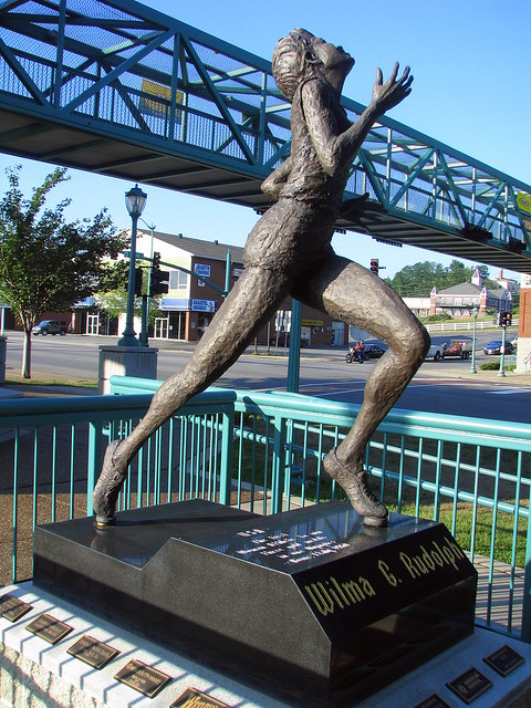 ... | Wilma Rudolph is perhaps Clarksville'… | Flickr - Photo Sharing