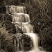 Ringstead Bay waterfall