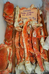 crab, shrimp, animal, crustacean, seafood, invertebrate, food,