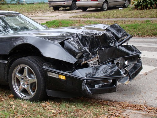 1989 Corvette C4 Coupe - Wrecked. Dec 21, 2008.