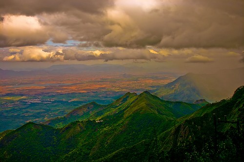sky india mountain clouds landscape bravo f10 hills valley cloudscape tamilnadu kodaikanal