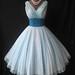 1950's Fred Perlberg Chiffon Prom dress by my_vintage_studio