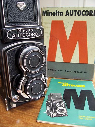 Minolta Autocord TLR