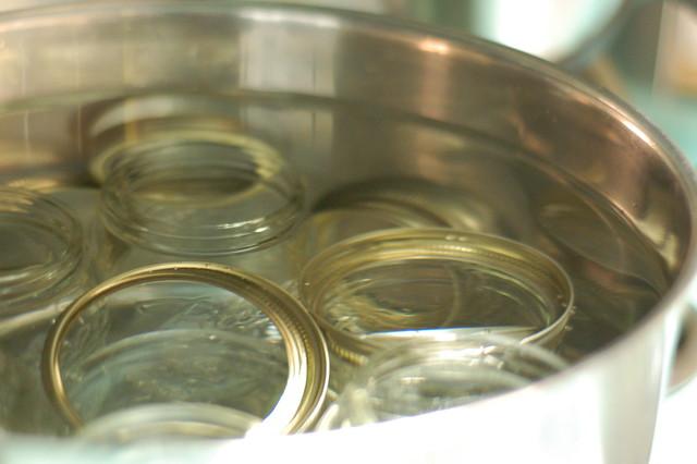 Sterilizing Jars
