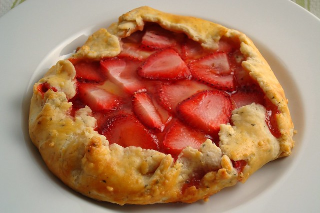 Strawberry Galette | Flickr - Photo Sharing!