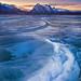 Abraham Lake in Banff National Park