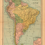 117 Mapa antiguo América del Sur (South America old map)