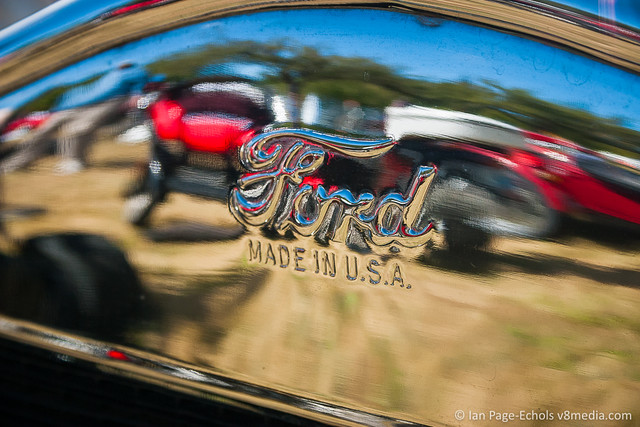 """Ford Made in U.S.A."" Front Grille Stamp"