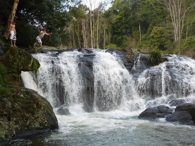 waterfall nimbin byron bay new south wales australia. Black Bedroom Furniture Sets. Home Design Ideas