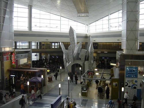 International terminal at Dallas Fort Worth Airport
