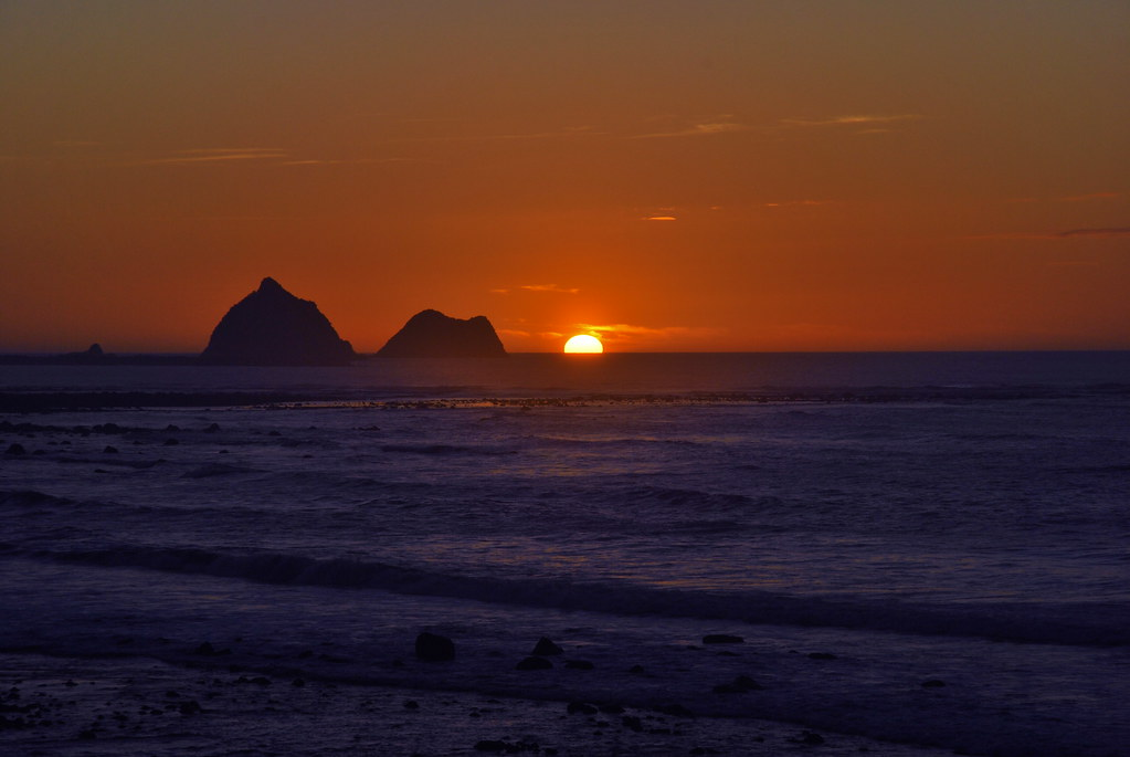 New Plymouth - Sunset - North Island - New Zealand