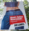 Linke Party Political Poster