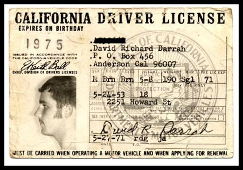 California drivers License creator