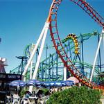 Desafio & Boomerang Roller Coasters