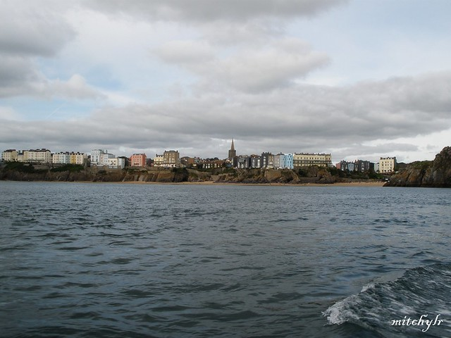 Tenby From Boat