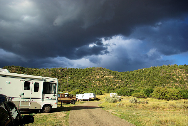 Morefield Campground, Mesa Verde National Park, Colorado, September 15, 2009