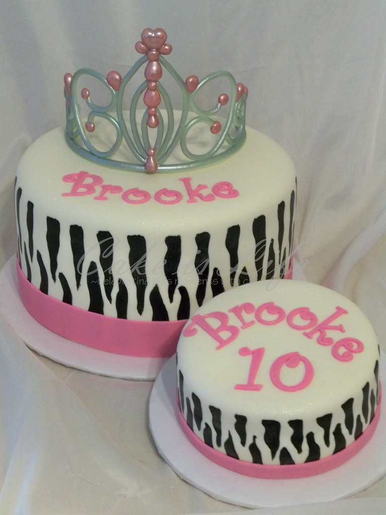 Excellent Zebra Birthday Cake 05 2011 Dark Chocolate Cakes With Van Flickr Funny Birthday Cards Online Amentibdeldamsfinfo