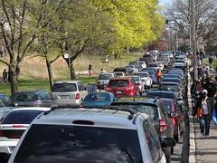 High Park traffic jam