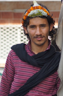 Flower man of Tihama