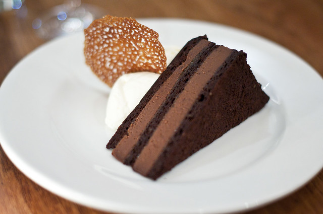 Trestle on Tenth - Chocolate Torte