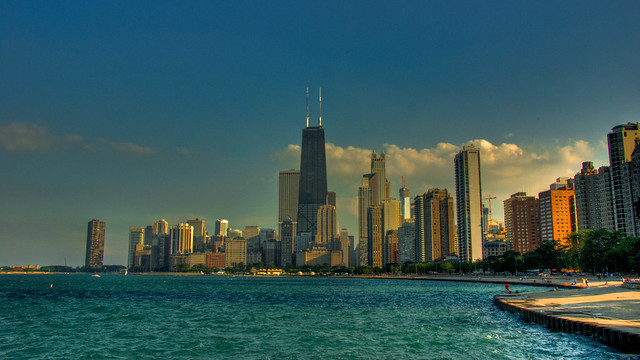 Chicago Skyline by bryce_edwards, on Flickr