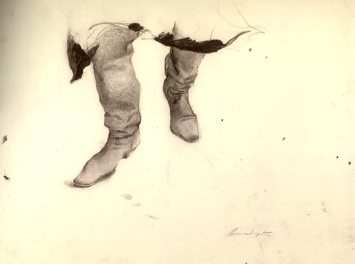 Boots by Andrew Wyeth