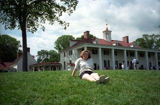 Sue At Mount Vernon