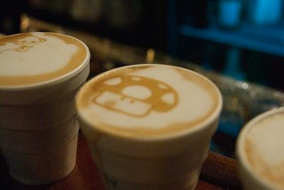 ROFLThing: OnLatte Mario Mushrooms. 1up